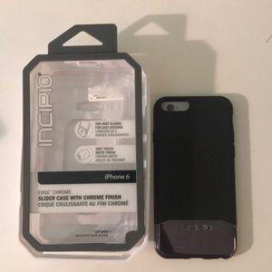 Incipio edge chrome phone case iPhone 6